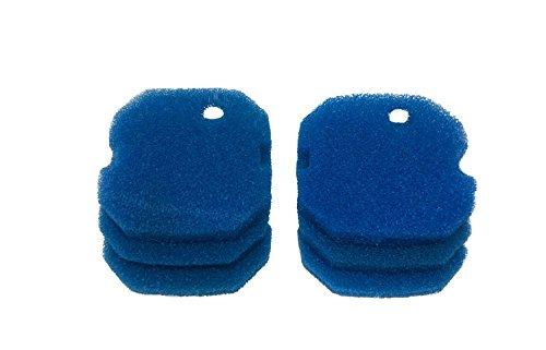 LTWHOME Coarse Foam Filter Fit for AquaOne Aqua One AQUIS 1200 1250 and 1000 1050(Pack of 12)