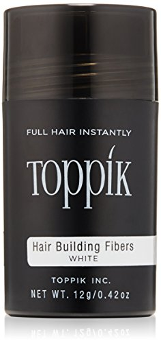 Price comparison product image TOPPIK Hair Building Fibers, White, 0.42 oz.