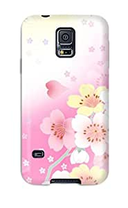 S5 Scratch-proof Protection Case Cover For Galaxy/ Hot Pretty Tiny Flowers Phone Case