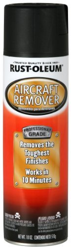Rust-Oleum 255449 Automotive 18-Ounce Aircraft Remover Spray by Rust-Oleum (Aircraft Remover Rustoleum)