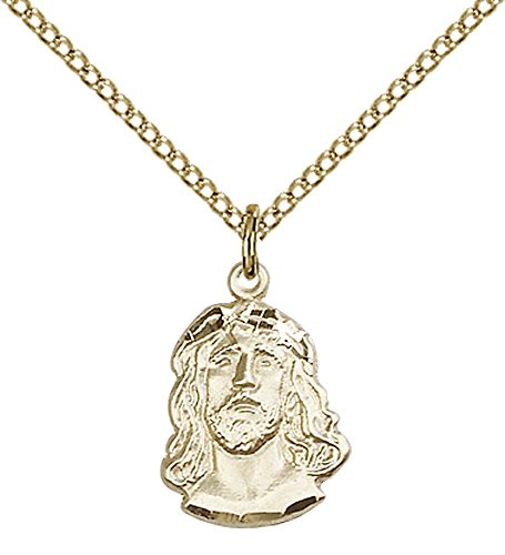 14kt Gold Filled Ecce Homo Pendant with 18