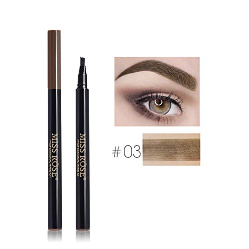 - 4 Fork Micro-Carving Enhancer Liquid Pencil Waterproof Tint Eyebrows Makeup Eyebrow Tattoo Pen