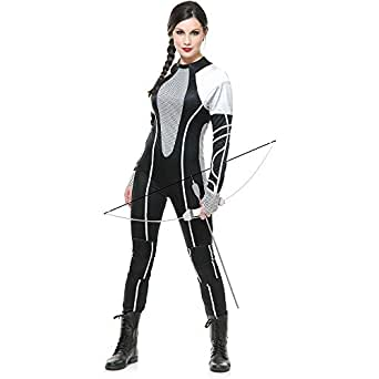 Charades Women's Hunter Jumpsuit with Out Knee Pads, As Sample, X-Small