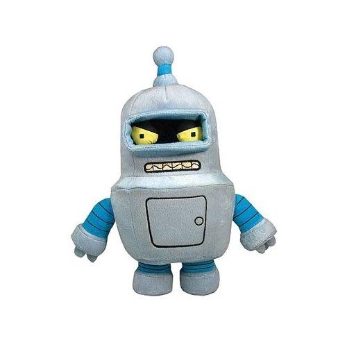 [Toynami Futurama Bender Plush] (Futurama Leela Costumes)