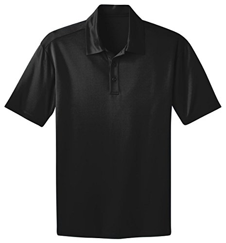 Port Authority K540 Silk Touch Performance Polo - Black - S