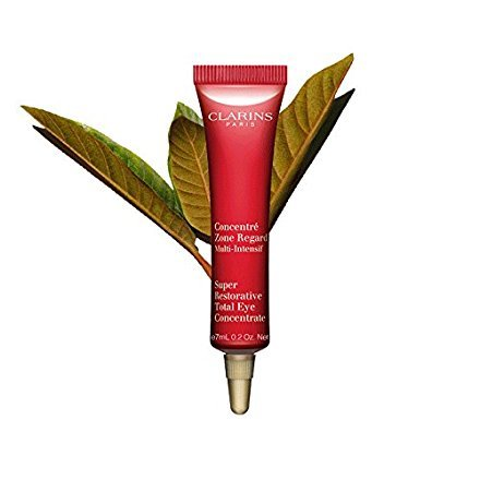 Clarins Super Restorative Total Eye Concentrate Travel Size Tube - 0.2 FL Ounce (Clarins Super Restorative Total Eye Concentrate 15ml)