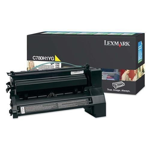 Lexmark Government C780/C782/X782e High Yield Yellow Return Program Toner 10000 (C782 Yellow High Yield)