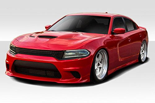 Duraflex ED-QYP-087 Hellcat Look Kit - 4 Piece Body Kit - Fits Dodge Charger 2015-2018