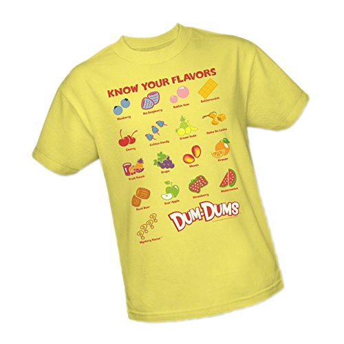 Flavors -- Dum-Dums Candy Youth T-Shirt, Youth Medium -