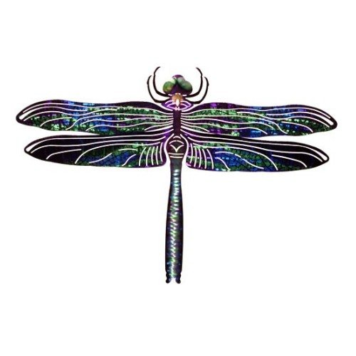 Next Innovations Dragonfly Refraxions 3D Wall Art, Large, Blue