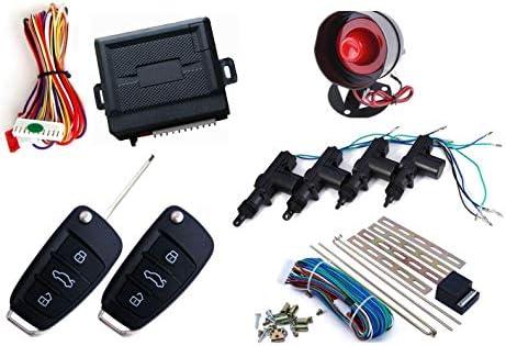 Car Center Lock With Keyless Entry Alarm System Amazon Com Mountnmist