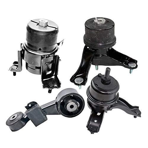 A62062 A4288 K0727 ONNURI For 2010-2011 Toyota Camry 2.5L Except Hybrid Motor /& Trans Mount Set 4PCS : A62009 A4295