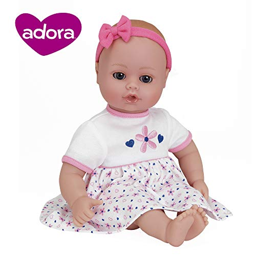 "Adora PlayTime Baby ""Petal Pink"" 13 inch Vinyl Girl, used for sale  Delivered anywhere in USA"