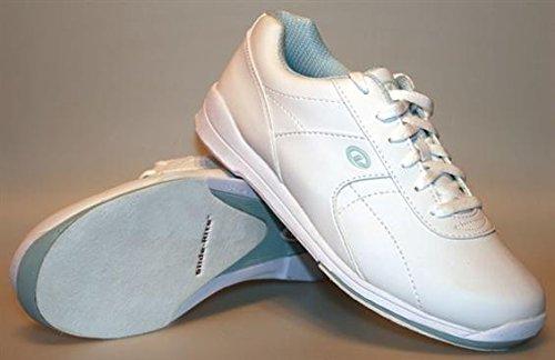 Dexter Raquel III Bowling Shoes, White/Baby Blue, 5