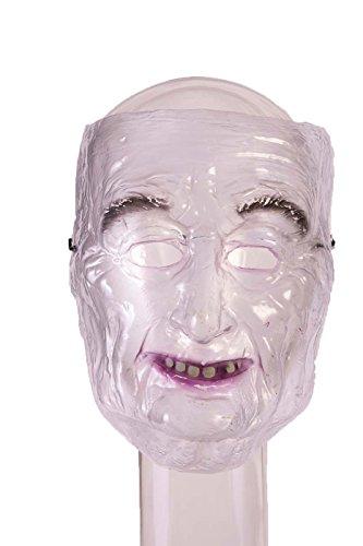 FORUM NOVELTIES MASK - TRANSPARENT OLD (Transparent Old Man Mask)
