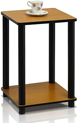 related image of Furinno Turn-N-Tube End Table, Light