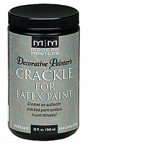 MODERN MASTERS DP601 1 Qt. Crackle For Latex Paint