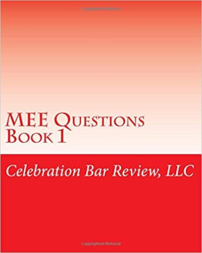Book MEE Questions Book