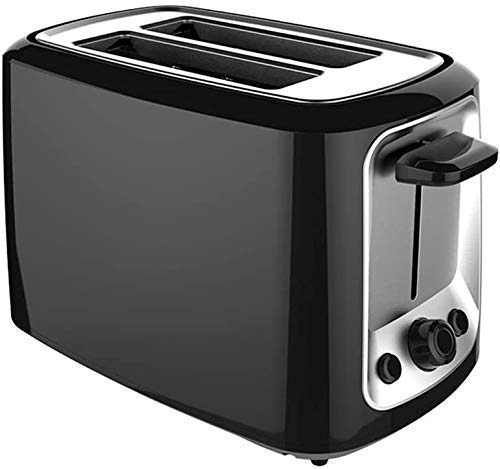 ykw Automatic Breadmaker Household 2 Slices Electric Stainless Steel Toaster Automatic Bread Maker Breakfast Baking…