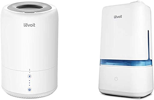 Amazon Com Levoit Humidifiers For Bedroom Cool Mist Humidifier For Babies Top Fill Ultrasonic Air Humidifier Auto Shut Off 1 8l 0 48gal Humidifiers For Bedroom 4l Ultrasonic Cool Mist Humidifier Home Kitchen