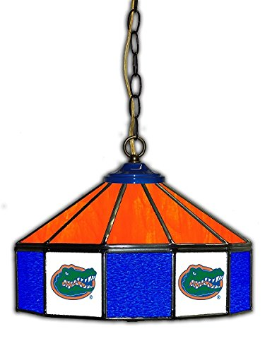 Official Licensed NCAA UNIVERSITY OF FLORIDA 14'' Glass Pub Lamp by Imperial International by Imperial