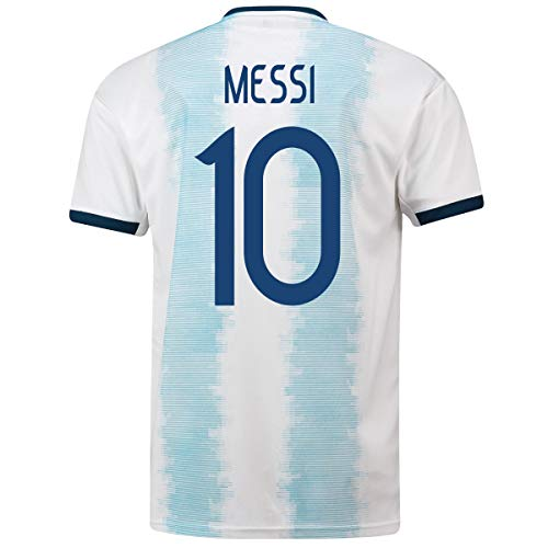 99a09f1f570 Messi #10 Argentina Home Youth Soccer Jersey 2019/20 (YS) White
