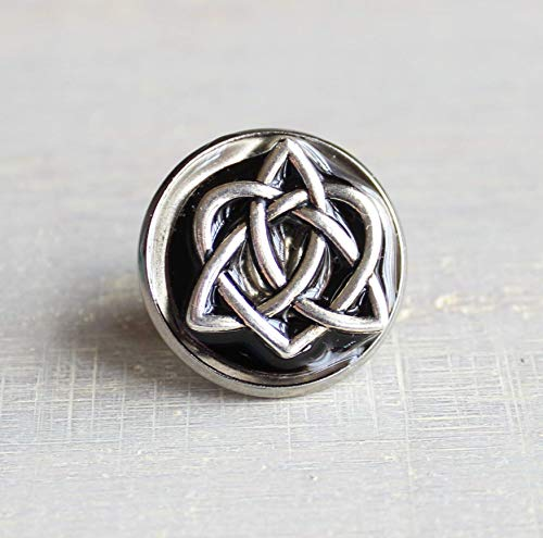 Celtic knot tie tack/lapel pin - additional colors