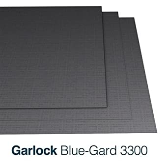 Garlock Blue Gard 3300 18 Thick 60 X 60 Sheet Amazoncom