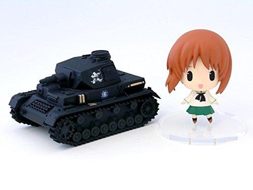 Girls und Panzer Chinbi Panzer Figure Vol.1 Miho Nishizumi & Panzer Kampfwagen IV Ausf.D. Imported from Japan.