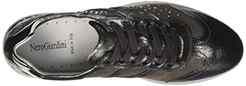 Nero Giardini A719471d, Sneaker Donna Grigio (Crack Grigio)