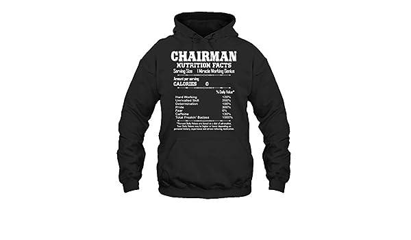 Two Camel Chairman Nutrition Facts Tee Shirt Long Sleeve Shirt