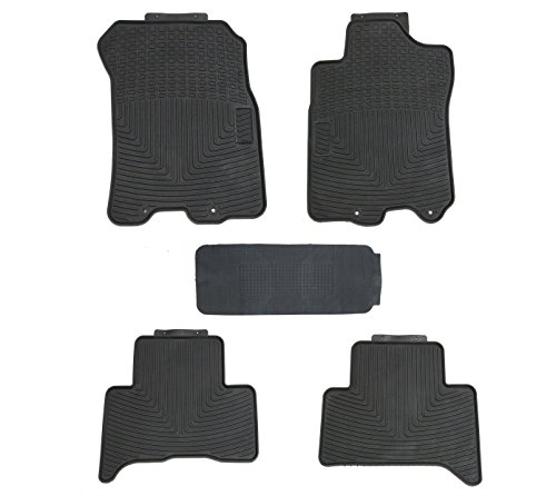 TMB Motorsports All Weather Floor Mats for Toyota FJ Cruiser 2007-2014 ()