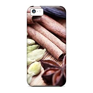 Ultra Slim Fit Hard AMGake Case Cover Specially Made For Iphone 5c- Spices