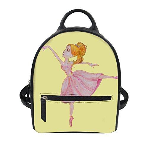 Advocator - Bolso mochila para mujer, Ballet5 (Naranja) - Advocator packable backpack Ballet9