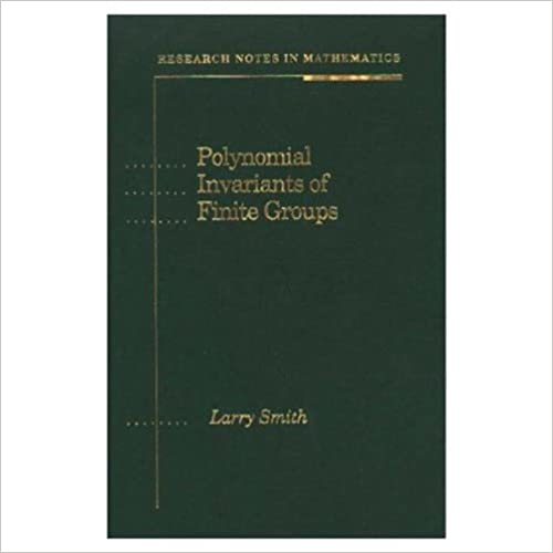 Polynomial Invariants of Finite Groups (Research Notes in