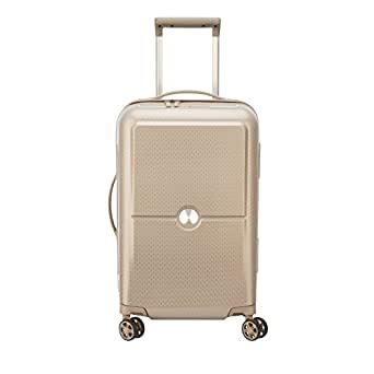 Delsey Paris Turenne 55 cm 4 Double Wheels Cabin Expandable Trolley Carry-On (Hardside) Beige (00162180117)