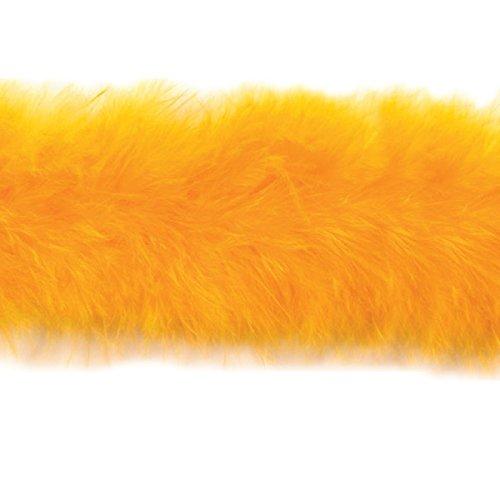 - Expo International Marabou Feather Boa Trim, 10 yd., Yellow