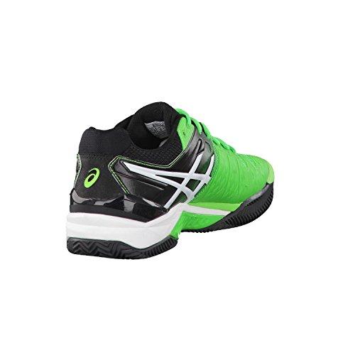 Asics Gel-resolution 6 Clay, Men Tennis Shoes Green (8590)