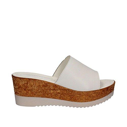 Femmes Soft Sandales 28 IAF2331 Blanc Cinzia BwHII