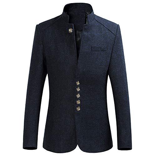Homme De Marine ropa Veste Bleu Strir Costume 0qCHTxP