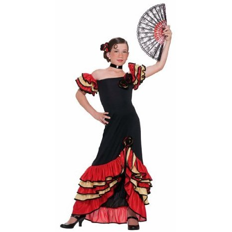 Forum Novelties Flamenco Girl Child's Costume, Small]()