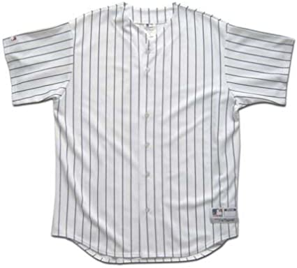 Blank Pinstripe Baseball Jersey