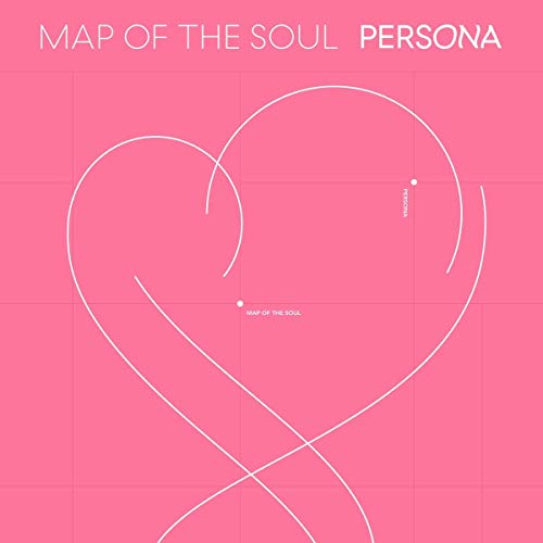 Bts BigHit MAP of The Soul : Persona CD+76p Photobook+20p Mini Book+1Photocard+1Postcard+1Photo Film+Folded Poster+Store Gift 8 Extra Photocards [2 ver.]