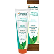 Himalaya Whitening Toothpaste - Simply Mint 5.29 oz/150 gm (1 Pack), Natural, Flouride-Free & SLS-Free