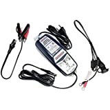 OPTIMATE 4 DUAL CAN-BUS caricabatteria per motocicletta BMW + adattatore DIN