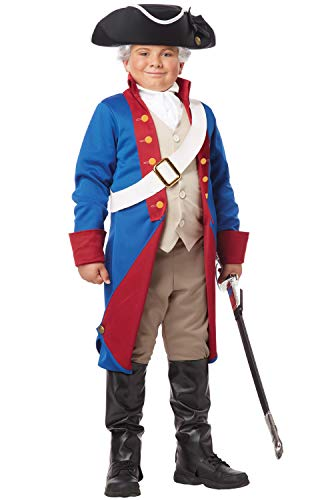 California Costumes American Patriot Child Costume, (Colonial Boy Child Costume)