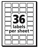 """Avery Self-Adhesive Removable Labels, 1/2"""" x"""
