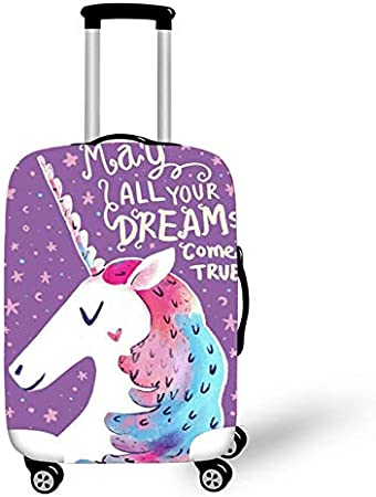 Elastic Luggage Protective Cover Case for Suitcase Protective Cover Unicorn XL Trolley Case Trunk 18-30 Inch Travel Accessories