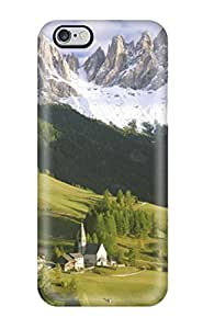 Fashionable Style Case Cover Skin For Iphone 6 Plus- Village Earth