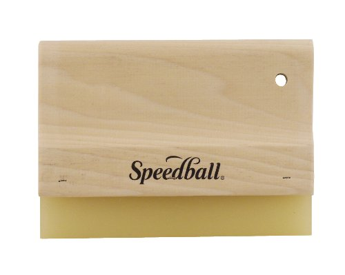 Speedball 8-Inch Graphic Squeegee for Screen Printing by Speedball